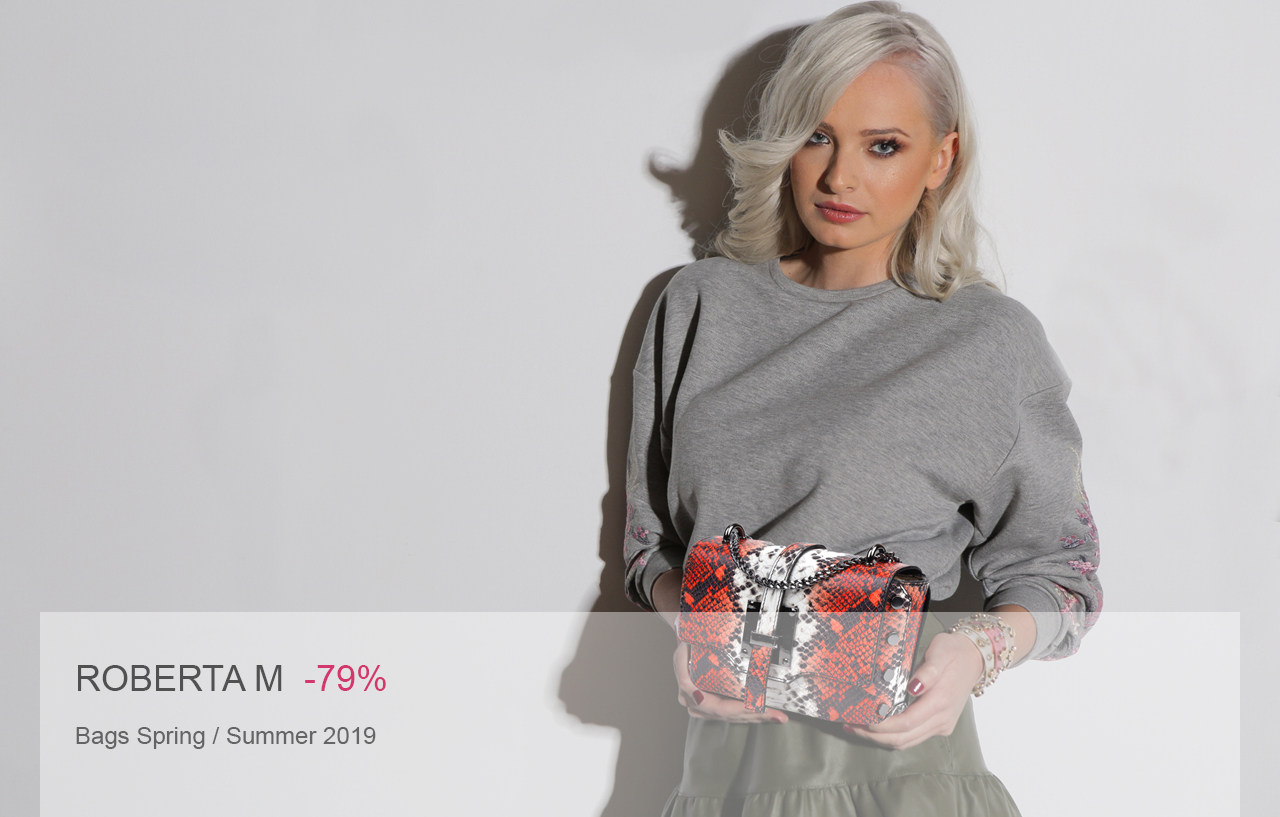 6c88a495560f Roberta M Spring   Summer 2019. Bikkembergs. Trussardi Bags