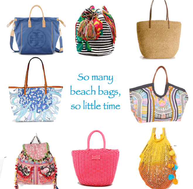 Beach bags. How to buy? How to style? Get ready for summer!