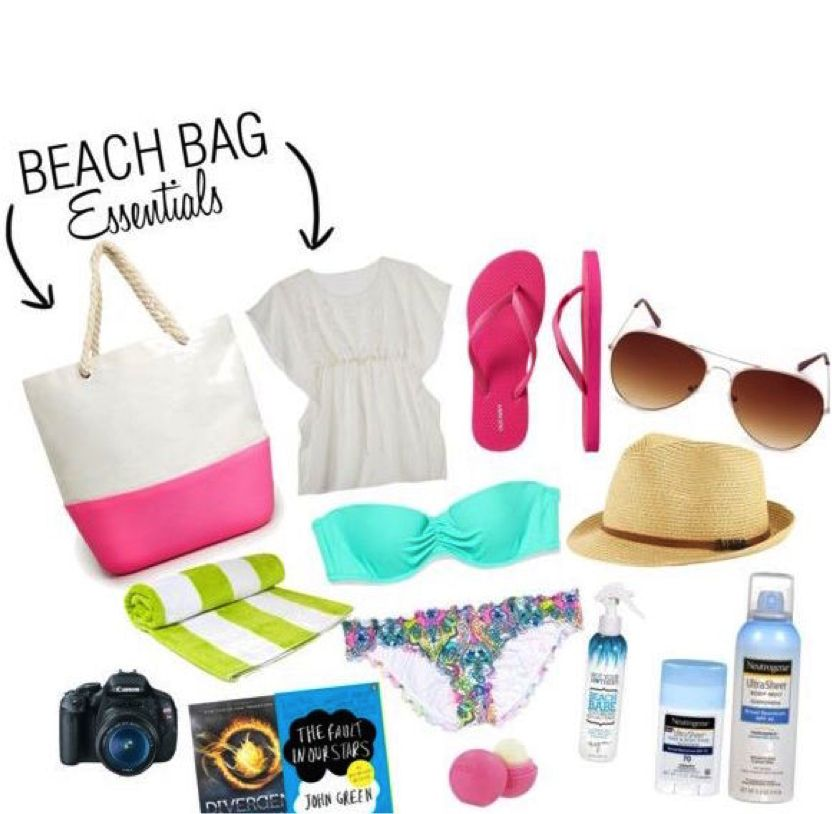Summer Bag Essentials for One Day at the Beach